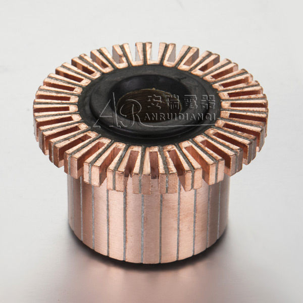 Groove Type Commutator